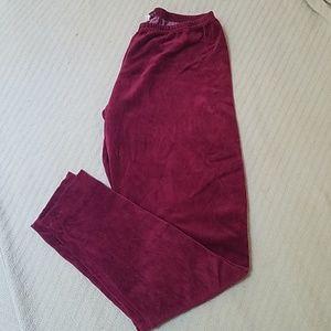 Cutloose velvet leggings